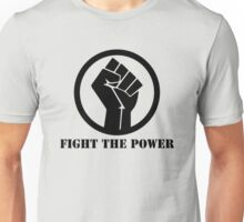 FIGHT THE POWER BLACK POWER RAISED FIST Unisex T-Shirt