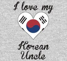 I Love My Korean Uncle Kids Tee