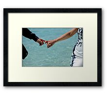 You and Me. Togetherness Framed Print