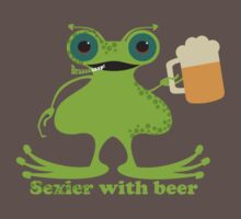 Funny sexy burping beer frog by BigMRanch