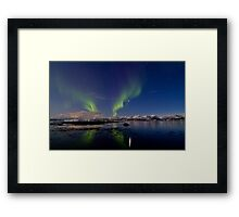 Aurora and the reef Framed Print