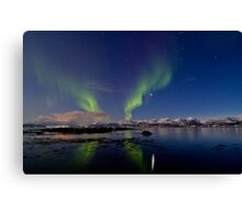Aurora and the reef Canvas Print