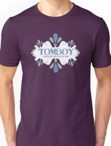 tomboy princesses beware decorative emblem Unisex T-Shirt