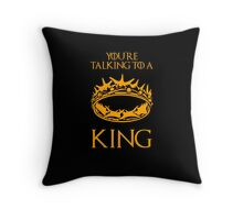 Game of Thrones: The Crown Throw Pillow