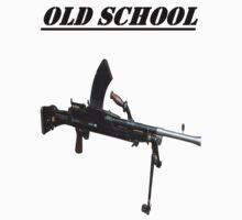 OLD SCHOOL LMG by Stephen Kane