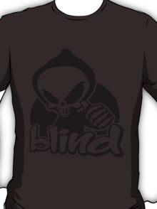 Blind skeleton. T-Shirt
