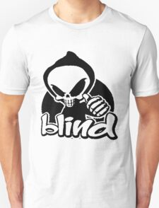 Blind skeleton. Unisex T-Shirt