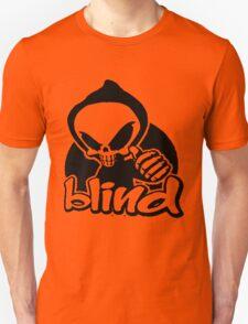 Blind skeleton. Unisex T-Shirt