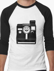Retro Camera. Men's Baseball ¾ T-Shirt