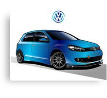 VW Golf 01 Canvas Print