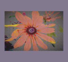 Light orange flower design Kids Clothes