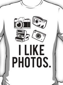 i like photos. T-Shirt