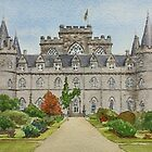 Inverary Castle - Argyll, Scotland by Lynne  Kirby