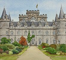 Inverary Castle - Argyll, Scotland by Lynne  Kirby
