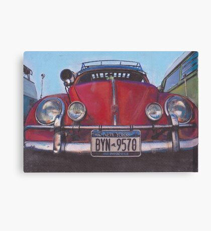 Full Frontal Canvas Print