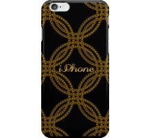 Abstract Metal Chain iPhone Case iPhone Case/Skin