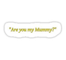 The Empty Child Sticker