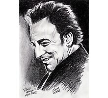 Bruce Springsteen, the Boss in Paris Photographic Print