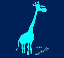 Blue Giraffe by giraffoarts