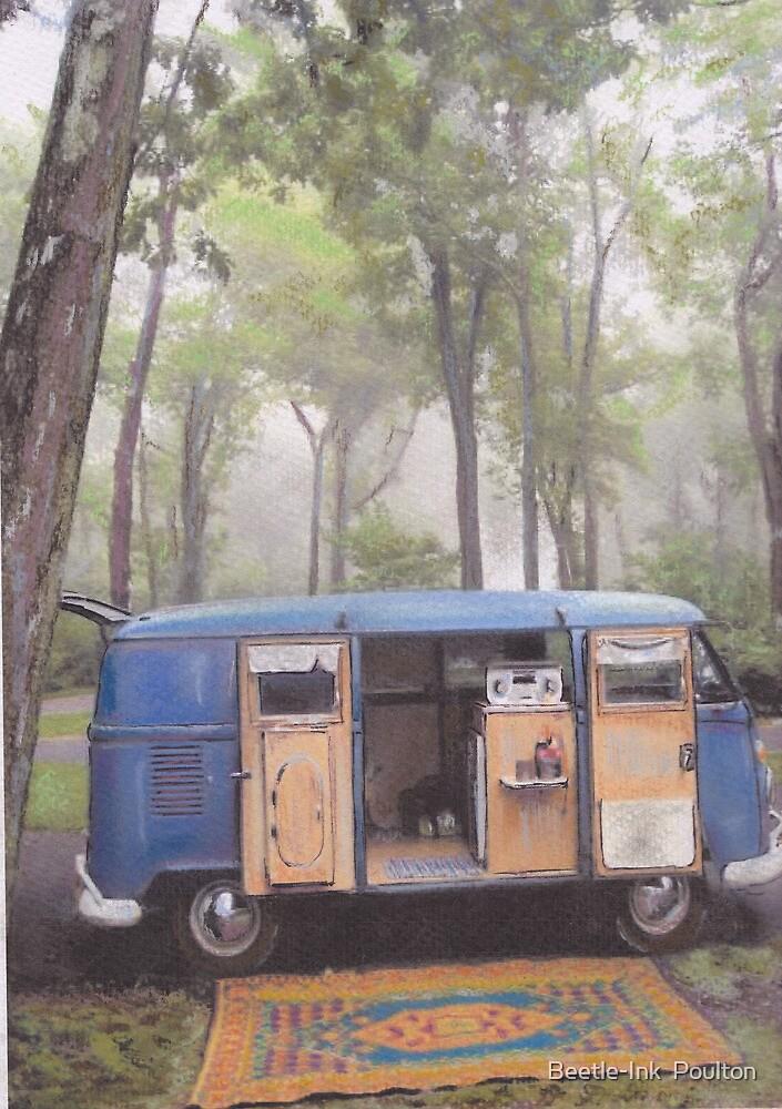 Misty Morning by Sharon Poulton