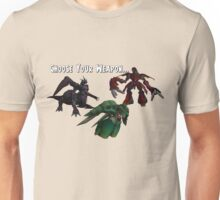 Final Fantasy 7 weapons Unisex T-Shirt