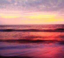 Pastel Color Sea and Sky by Roupen  Baker