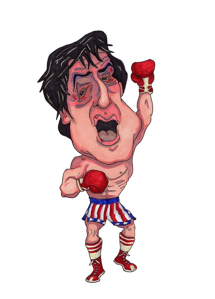 Rocky Illustration by Sean Biggs
