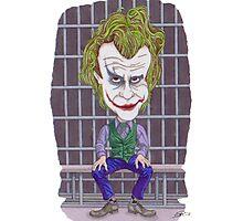 Joker Illustration Photographic Print