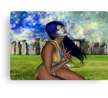 Pagan Meditation Canvas Print