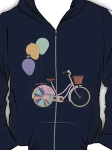 Love to Cycle on my Pink Bike T-Shirt