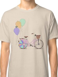 Love to Cycle on my Pink Bike Classic T-Shirt