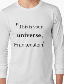 Frankenstein's Universe Long Sleeve T-Shirt