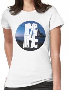 AYE AYE  Womens Fitted T-Shirt