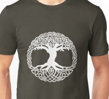 The Tree Of Life (white) Unisex T-Shirt