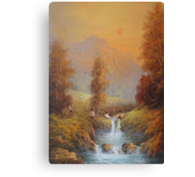 Hobbit's Adventure (Set For A Fall) Canvas Print