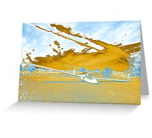 Golden Age of Gliders Greeting Card