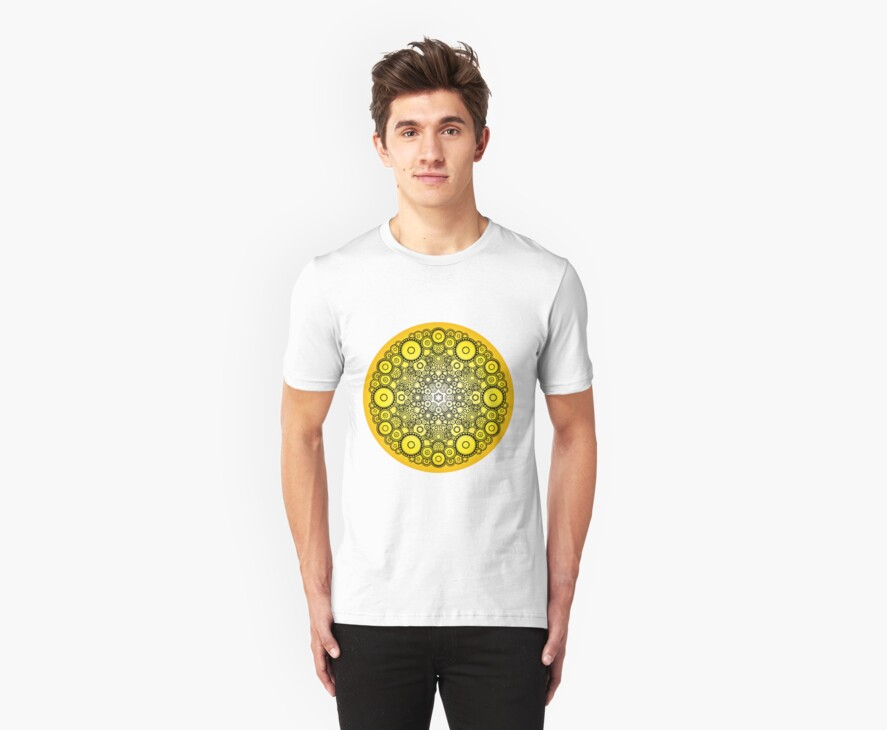 Mandala 37 T-Shirts & Hoodies SUNSHINE by mandala-jim