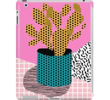 Ace - 80's throwback retro vintage hipster texture vinyl record 1980's 90's cool memphis bright fun iPad Case/Skin