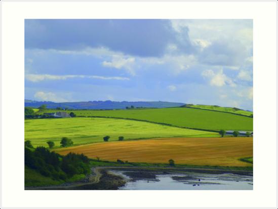 A Layered Landscape by Fara