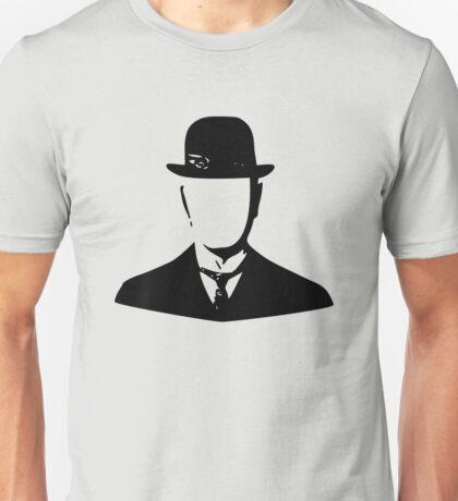 son of man appleless - black Unisex T-Shirt