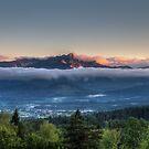 Sunset up above by Stefan Trenker