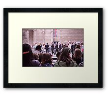 The Royal Wedding Framed Print