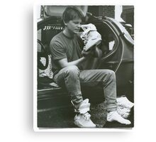 Marty Mcfly Back to the future Canvas Print