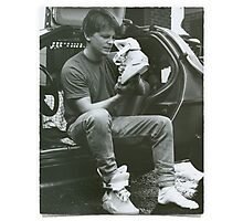Marty Mcfly Back to the future Photographic Print