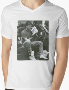 Marty Mcfly Back to the future Mens V-Neck T-Shirt