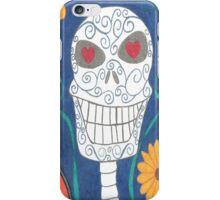 Sugar Skull Blue Phone Case iPhone Case/Skin