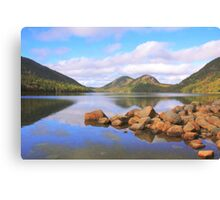 Jordan Pond, Acadia National Park Canvas Print