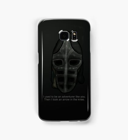 Then I Took an Arrow in the Knee Samsung Galaxy Case/Skin