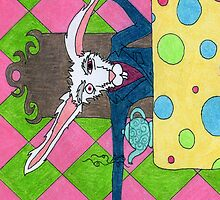 March Hare Phone Case by scifigoofy