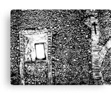 House of Bones  Canvas Print